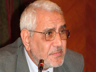 Security prevents solidarity with Aboul Fotouh