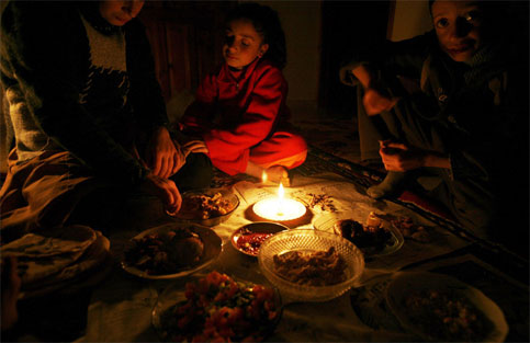 Gaza power cuts leave people cold physically, metaphorically