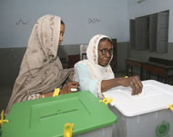 PAKISTAN       Parliamentary election an anti-democratic exercise