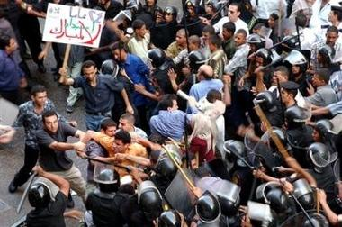 BBC: Egyptian police stifle protests