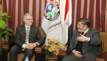 Dr. Morsi to Norwegian Envoy: Situation in Egypt Improving