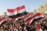 Cairo University holds conference highlighting lessons learned from Egypt's peaceful Revolution