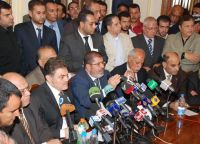 Morsi: Democratic Alliance Parties Will Compete in Elections Under One Banner