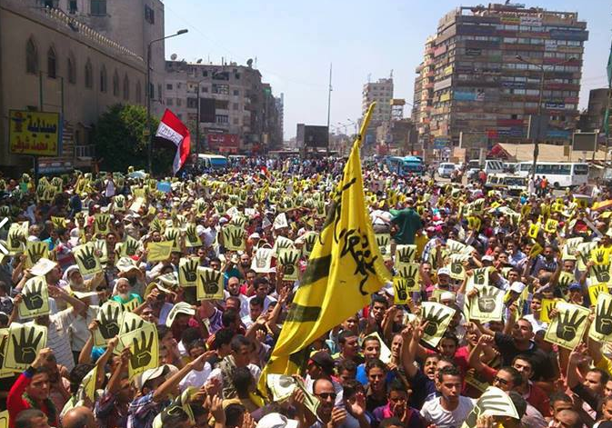 Pro-Democracy Alliance Sunday Protests Away from Copts Gatherings