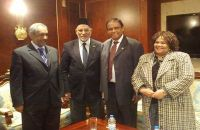 Dr. Badie Receives South Africa's Deputy Foreign Minister