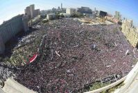 Egypt: ANHRI condemns raiding Tahrir sit-in by force, the Military Council has to release all detainees
