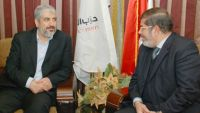 Meshaal Congratulates Morsi on FJP Victory in Legislative Elections