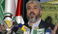 Meshaal: Palestinians do not want a nominal state