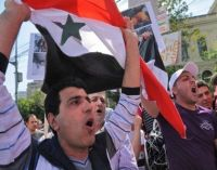 Governorates Across Egypt Protest Bashar Crimes After Friday Prayers