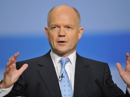 Hague: Egypt's Upcoming Phase Defining Point for Region's Democracy