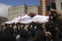 Syrian Mourners Targeted During Funeral Processions
