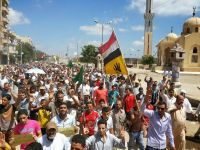 Anti-Coup Demonstrations in Cairo, Provinces Show Solidarity for Gaza