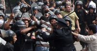 Security Threats for Activists Hours before the Egyptian Day of Rage