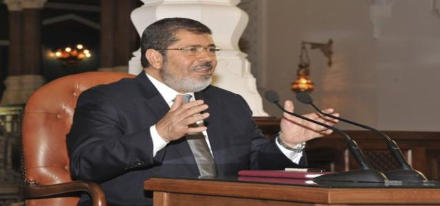 President Morsi: We Will Not Allow Aggression Against Palestinian People