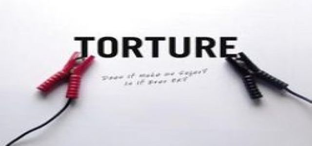 Torture:  A strategy of Egypt's police force.