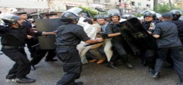 50 people, including journalists, arrested before Kefaya protest begins