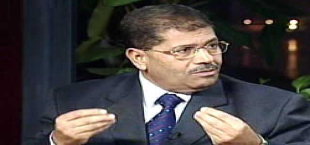 Morsi: Interior Minister Is Responsible For