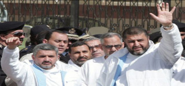 Military Tribunal Resumes Amid Worries about Al Shater's Health