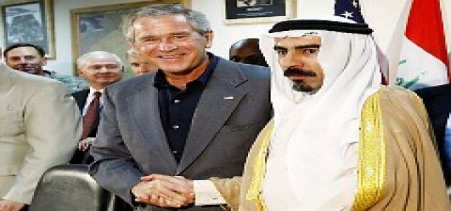 Bush's Fake Sheik Whacked: