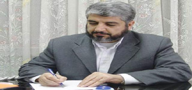 Hamas delegation headed by Mishaal heads to Cairo
