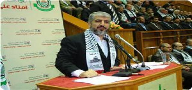 Mishaal: Occupation is responsible if Egypt's efforts fail