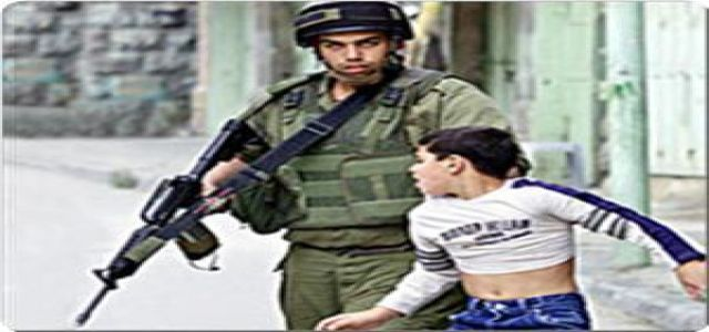 IOF soldiers torture two Palestinian children, try to maim one of them