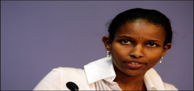 Islamist target Hirsi Ali seeks French protection