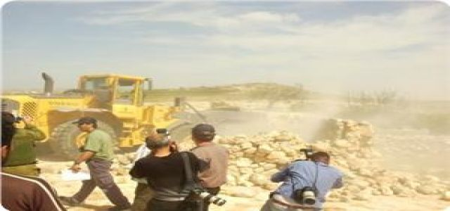 Israeli army carries out ethnic cleansing near Hebron for settlement expansion
