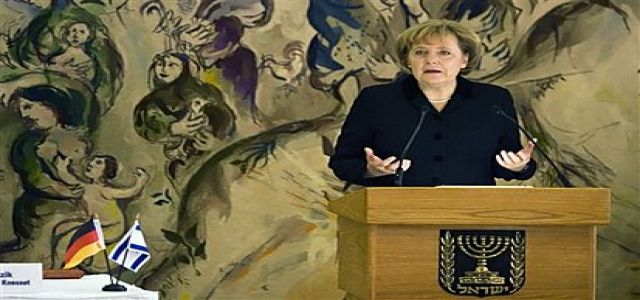Germany: Israel, Israel Above Everything - Merkel in the Knesset