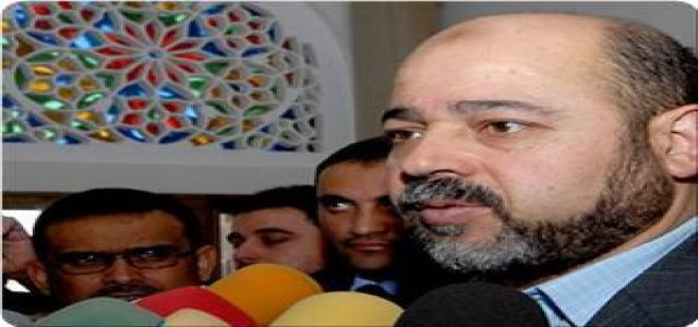 Dr. Abu Marzouk: Hamas will give today its reply to the Egyptian draft