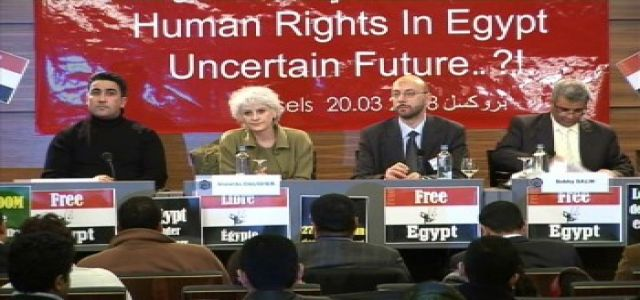 Videos of the Brussel's Conference on Egypt's Human Rights Violations