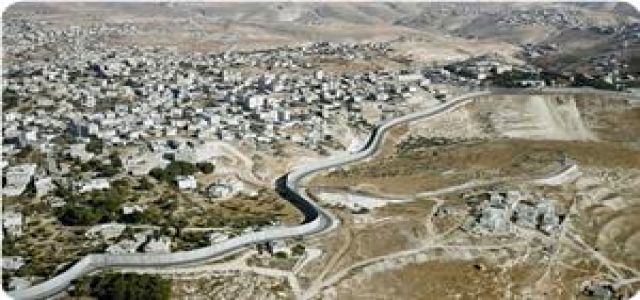 New path of apartheid wall gobbles up more fertile lands in Qalqilia