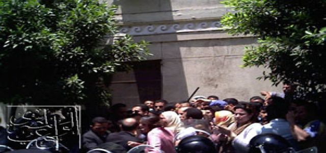 Hundreds of Muslim Brotherhood members clash with police ahead of municipal elections