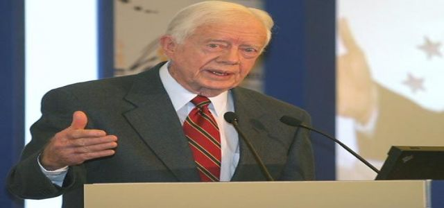 Carter says Hamas must be included