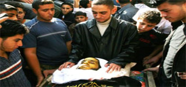 IOF troops kill Palestinian child participating in peaceful rally in W. Bank