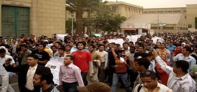 Crackdown on Muslim Brotherhood Students Continues