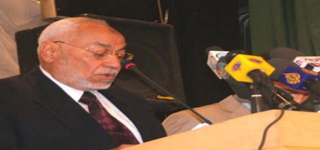 Statement of the Chairman of the Muslim Brotherhood at the Egyptian Lawyers' Syndicate