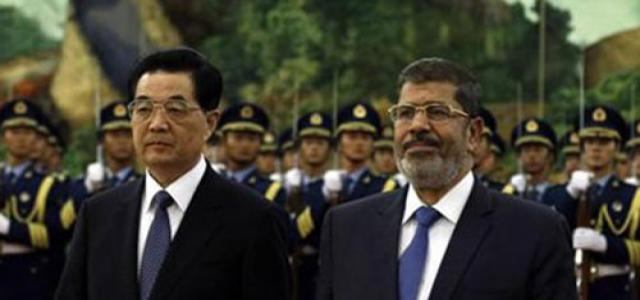 Morsi and Hu Jintao Underscore Need to End Syrian Crisis