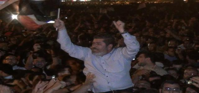Morsi Joins Protesters in Tahrir Square Denouncing Absurdly Lenient Verdicts