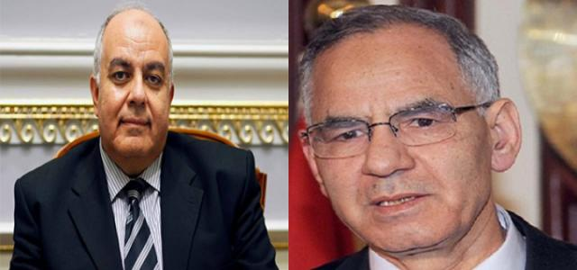 Egypt Pro-Democracy Coalition Leaders Bishr and Darrag Meet European Union Envoy