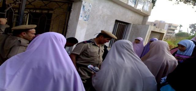 Egyptian Security attacks MB female students