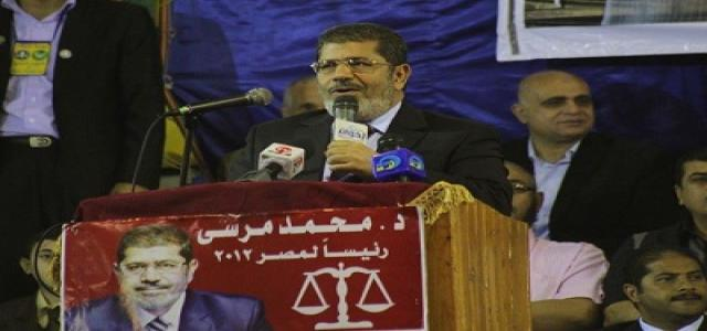 Dr. Morsi, in Kafr El-Sheikh: Egypt Will Never Again Become a Den of Corrupt Cronies