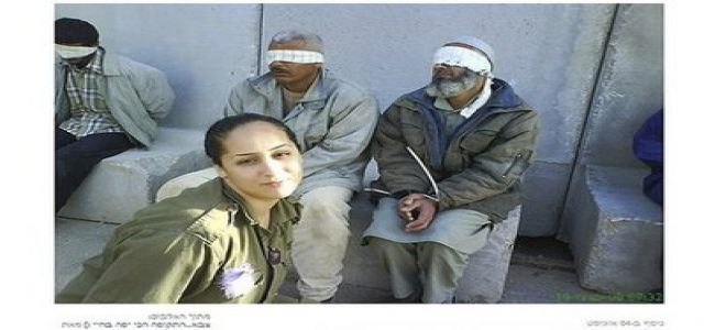Israeli soldier posts images of blindfold citizens on Facebook
