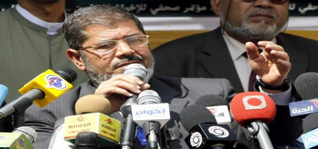 Morsi: All Factions Will Be Represented During Drafting of Constitution