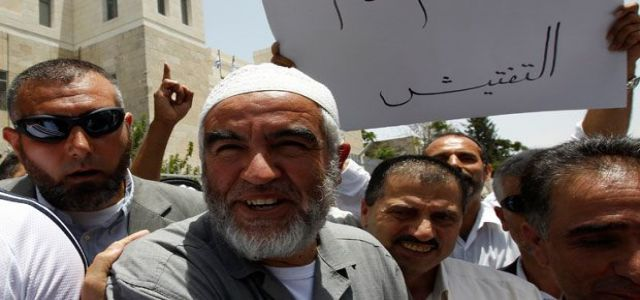 Khatib warns of plotting to kill Sheikh Salah in prison