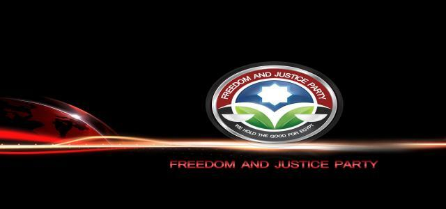 Freedom and Justice Party Seeks National Accord for Faster State Institutions Rebuilding