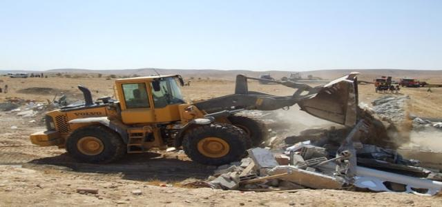 Occupation bulldozes lands in the village of Takku