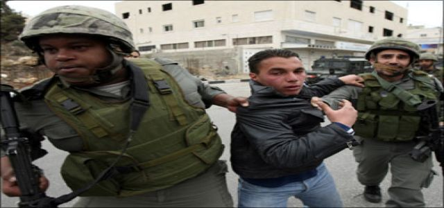 IOF troops detain 5 Palestinians, shell resistance fighters