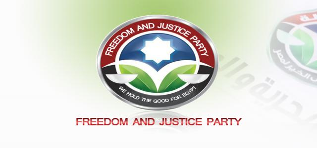 The Freedom and Justice Party Views on Current Events