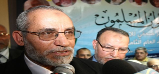 Don't expect Badie to change the Brotherhood